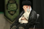 تصاویر   مراسم عزاداری رحلت رسول اکرم (ص) با حضور رهبر انقلاب