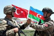 ببینید | رزمایش ترکیه و جمهوری آذربایجان در۱۰ کیلومتری نخجوان