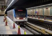 افتتاح یک ایستگاه مترو در خط شش