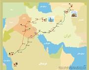 از مدینه تا خراسان؛ تحلیل جغرافیایی پنج مرحله از سفری تاریخی