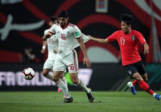 تمجید فیفا از آمار ایران مقابل کرهجنوبی