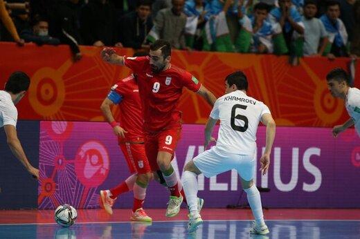 یک ایرانی هفتمین گلزن برتر جامجهانی فوتسال