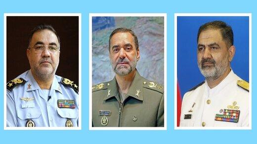 جزییات دیدار فرماندهان نهاجا و نداجا با وزیر دفاع