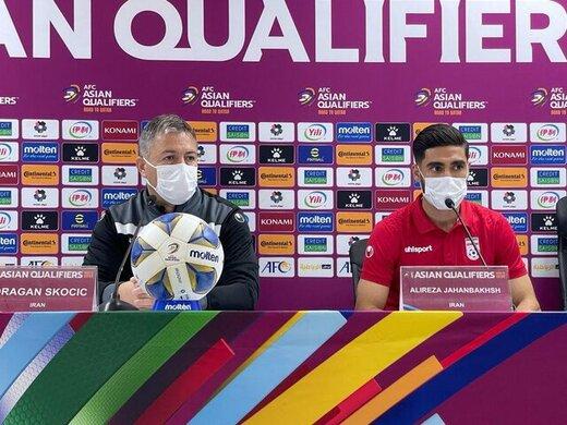 جهانبخش: به امارات احترام میگذاریم اما پیروزی میخواهیم