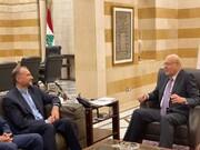 امیرعبداللهیان با نخستوزیر لبنان دیدار کرد