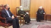 حضور امیرعبداللهیان در مجلس اعلای شیعیان لبنان