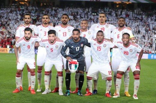 ترکیب احتمالی امارات مقابل ایران