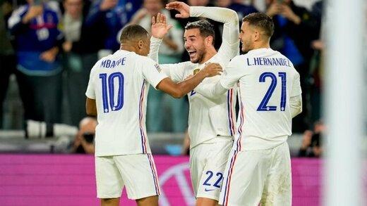 صعود دراماتیک فرانسه به فینال لیگملتهای اروپا