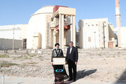 Iran's president says the capacity of Bushehr nuclear power plant to be tripled