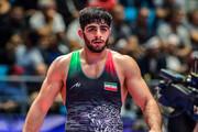 Saravi gains Iranian Greco-Roman team's 1st gold medal