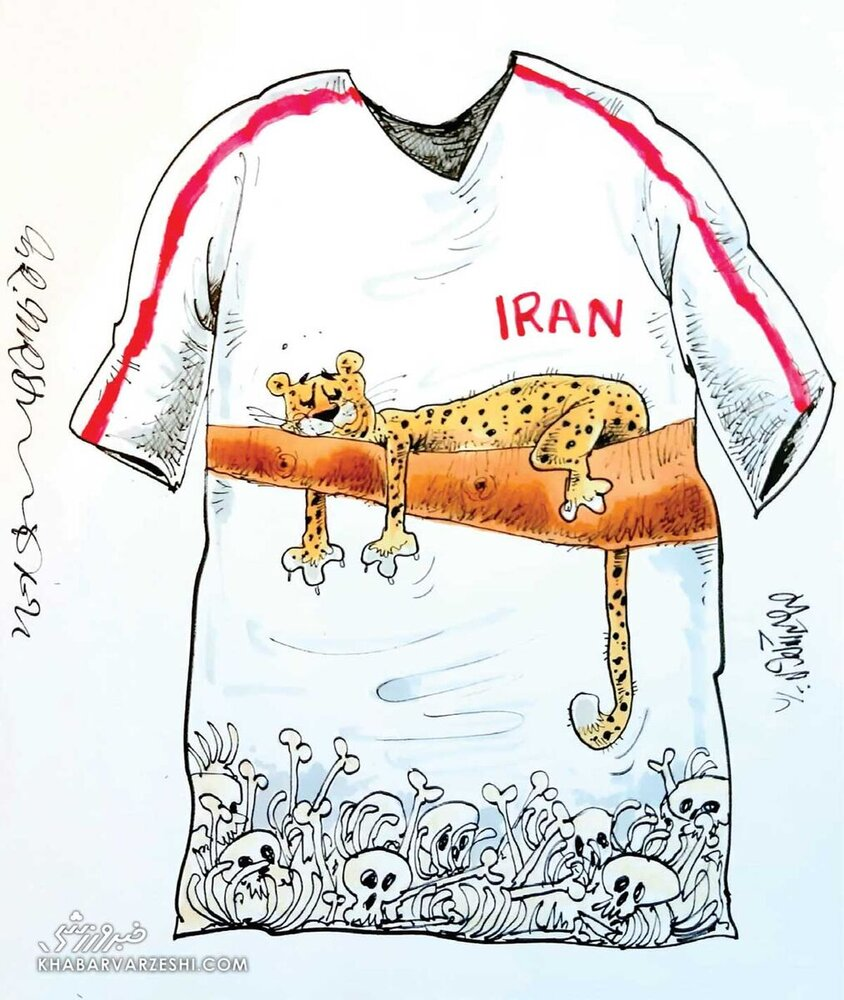 طرح جدید لباس تیم ملی ایران را ببینید!