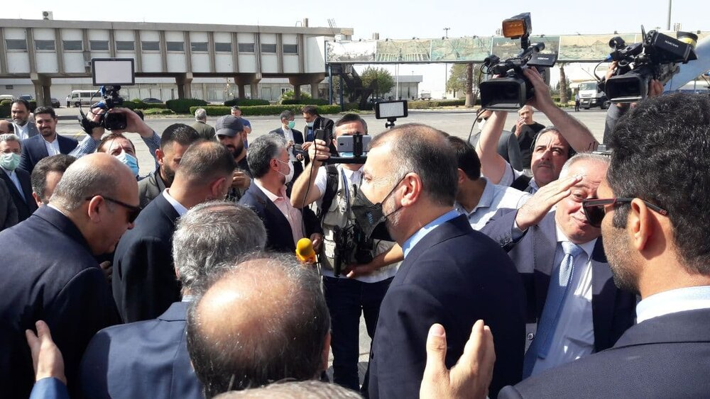 Iran's FM arrives in Syria after visiting Russia, Lebanon