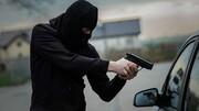 ببینید | سرقت خودروی ۲۰۶ با اسلحه جنگی در اهواز