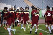 تصاویر   تمرین سر حال و جالب تیم ملی ایران پیش از مصاف با کره جنوبی در ورزشگاه آزادی