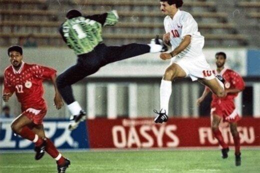 ببینید | عکسی از قلب تاریخ فوتبال ایران؛ راوی اصلی مصدومیت علی دایی چه کسی بود؟