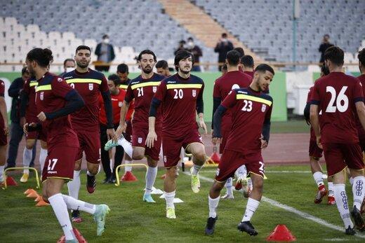 وزیر ورزش به اردوی تیم ملی رفت/عکس