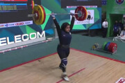 چرا موفقترین دختر وزنهبردار ایران روی سکو اشک میریخت؟