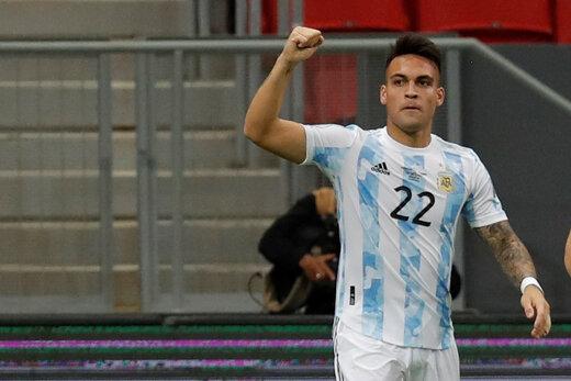 دلیل اشکهای ستاره آرژانتین روی نیمکت چه بود؟/عکس