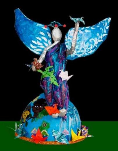اثر هنرمند اروندی برگزیده جشنواره «آرمان صلح» یونسکو شد