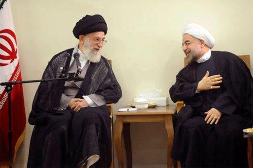 ببینید | بازخوانی دیداری مهم در سال ۱۳۸۴ و نقل قول رهبر انقلاب درباره حسن روحانی