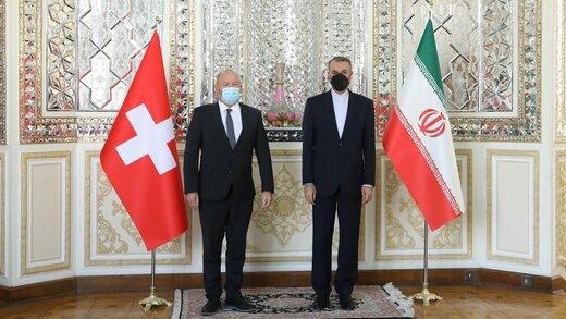 امیرعبداللهیان در دیدار رئیس مجلس ملی سوئیس: جمعبندیهای دولت در حال نهایی شدن است؛ اقداماتمان بر اساس عمل طرف مقابل است/عکس