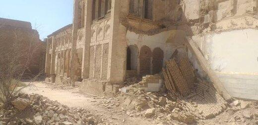 احیاء و مرمت خانه اربابی یزد با ورود و دستور دادستان یزد