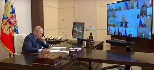 پوتین علت سرفههایش را اعلام کرد