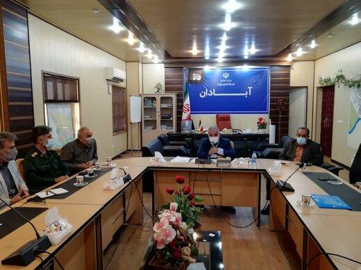 راه اندازی قرارگاه سردار شهید سیاح طاهری آبادان برای کمک به زلزله زدگان اندیکا