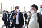 رییسی: ۱۰۰ طرح با ۶ هزار میلیارد تومان اعتبار برای استان فارس تصویب شد