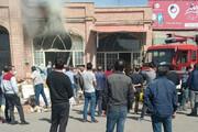ببینید | حرکت تحسینبرانگیز مردم اردبیل در مواجه با آتشسوزی در بازار