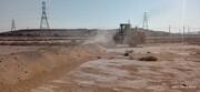 رفع تصرف از ۱۱.۴هزارمترمربع اراضی خالصه دولتی به ارزش ۲۵۰.۸ میلیارد ریال در شهر لافت قشم