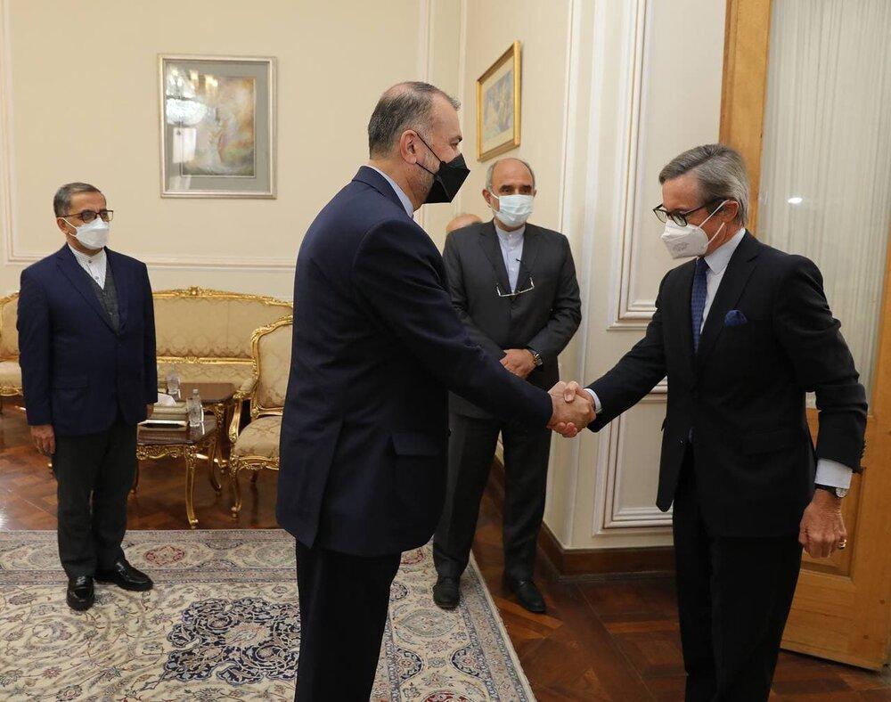 دیدار دبیرکل وزارت خارجه اتریش با امیرعبداللهیان
