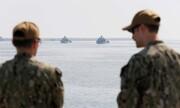 رزمایش دریایی مشترک آمریکا و عربستان