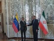Iran, Venezuela FMs meet in Tehran