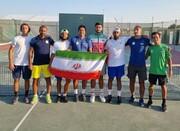 صعود تیم ملی تنیس ایران به دسته سه آسیا - اقیانوسیه