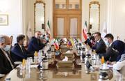 دیدار وزیران خارجه ایران و ونزوئلا