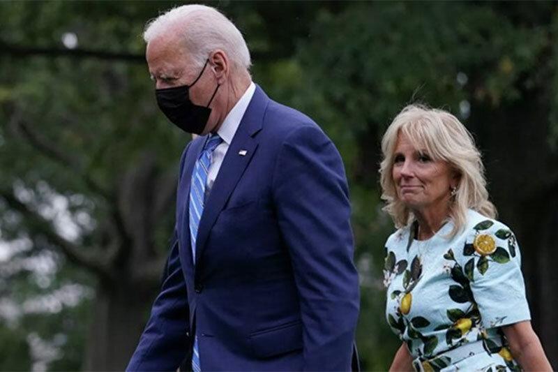 ببینید   ماسک نزدن بایدن و همسرش در یک رستوران جنجال به پا کرد