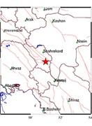 خسارتی از زلزله گندمان شهرستان بروجن  گزارش نشده است
