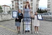 ببینید | با بلندقدترین زن زنده جهان آشنا شوید؛ ۲۱۵ سانتیمتر