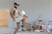 ببینید | تکنیک حیرتانگیز نقاش ترک در زدن روپایی با قوطی رنگ!