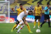 ببینید | حرکت مشکوک و عجیب بازیکن مس برای زدن گل به خودی مقابل سپاهان!