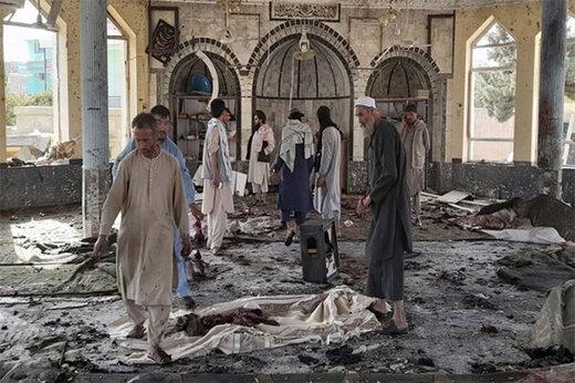 ببینید | لحظه ورود عوامل انتحاری به مسجد شیعیان افغانستان
