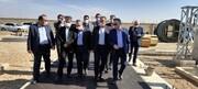 """بازدید معاون وزیر صنعت، معدن و تجارت از """" مجتمع فولاد گلستان"""