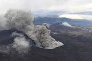 ببینید | ژاپن روی موج وحشت؛ لحظه فوران آتشفشان آسو