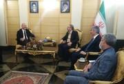 وزیر کشور ترکیه با سه مقام بلند پایه وارد تهران شد