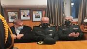 بازدید سرلشکر باقری از فعالیتهای نیروی دریایی روسیه در جزیره کرونشتات