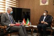 اسلامی در دیدار سفیر اتریش: متهم واقعی در جایگاه مدعی قرار گرفته است