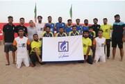 تیم فوتبال ساحلی منطقه آزاد چابهار به لیگ برتر کشور صعود کرد