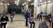 آزمون بدو خدمت رانندگان در قزوین برگزار شد