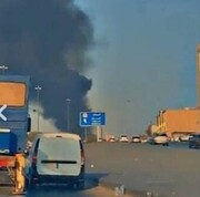 اخباری از انفجار انبار سلاح و مهمات در عربستان